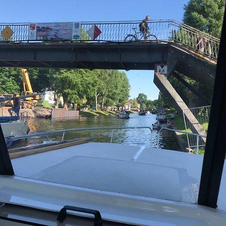 Gizycko Swing Bridge ภาพถ่าย