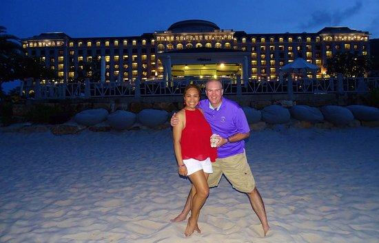 Vinpearl Resort Nha Trang: On the beach