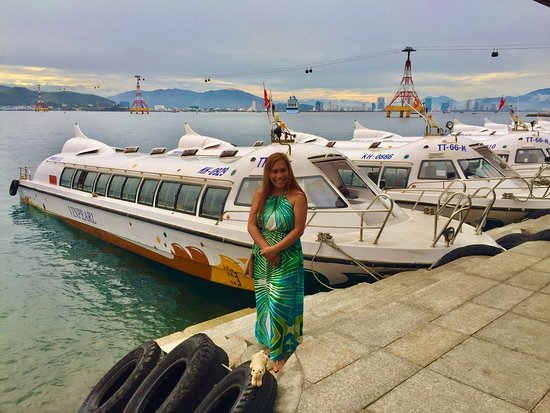 Vinpearl Resort Nha Trang : Boat to the mainland, with Luxury Travel Camel