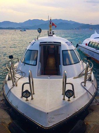 Vinpearl Resort Nha Trang : Boat to the mainland
