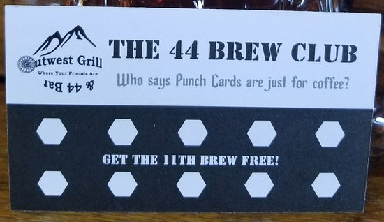 Post Creek Steak and Tap House: 44 Bar Brew Club
