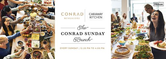 Caraway Kitchen: The Conrad Sunday Brunch