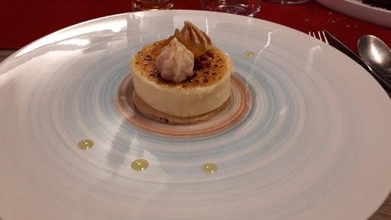 Restaurant Le Neptune: Crème catalane