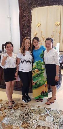Hotel agradável e staff sensacional