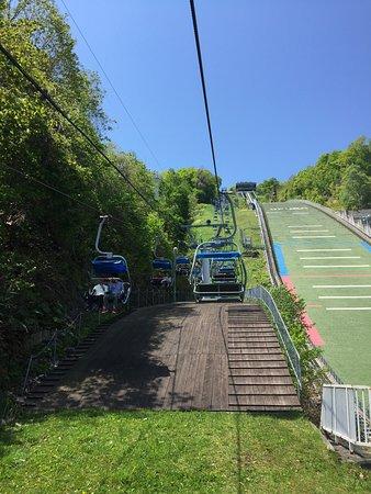 Mt. Okura Observatory: 坐纜車來回上看台