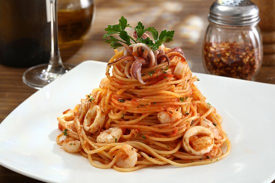 Aria Restaurant: Spaghetti Marinara