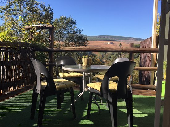 Sabie, South Africa: Apartment A, Deck with a View