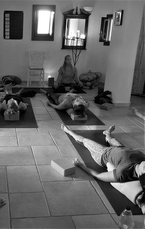 Island Yoga Flow: Supported savasana.