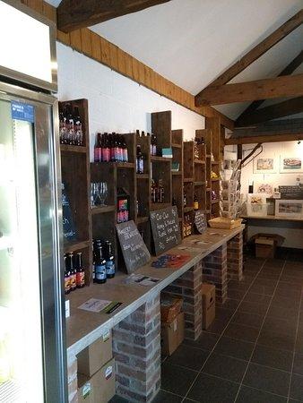 Dulas, UK: Inside the shop