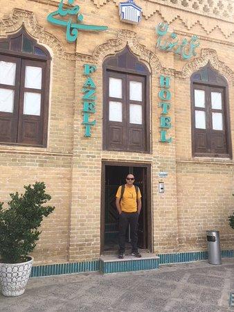 Step to Iran: Hotel Fazeli, Yazd