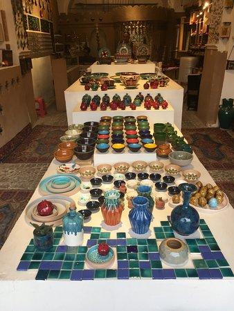 Step to Iran: Ceramiche artigianli