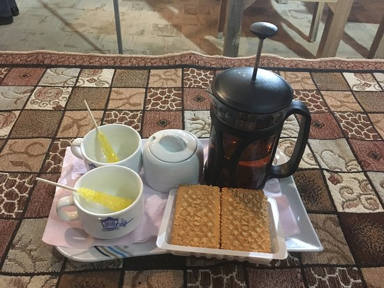 Step to Iran: chai, il the