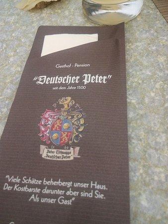 Unterbergen, Áustria: Deutscher Peter