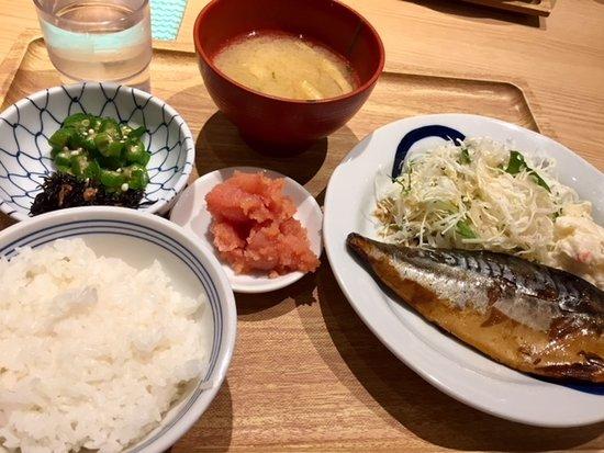 Hakata Fukuichi, Saitama Shintoshin: さば煮定食