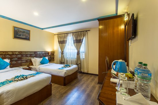 Hotel Yukhang : Deluxe room (Twin bed)