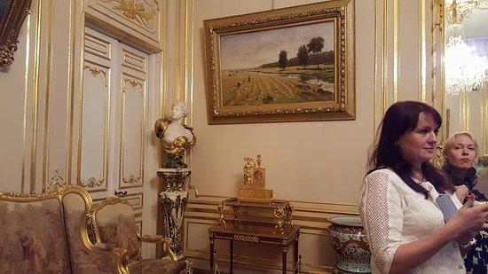 Hotel Kochubey Center: Музейные экспонаты. Золотая гостиная супруги В.П. Кочубея
