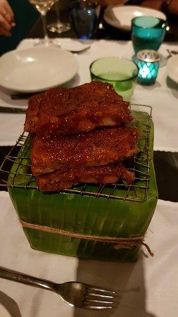 Issaya Siamese Club: Grilled Pork Ribs
