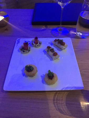 Arras Restaurant: canapes