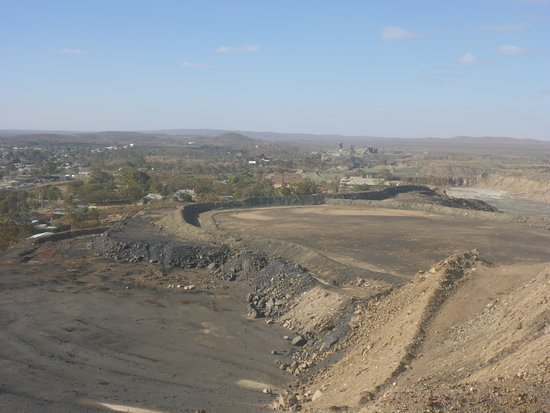 Broken Hill Miner's Memorial : Some of the Spoils Leftover