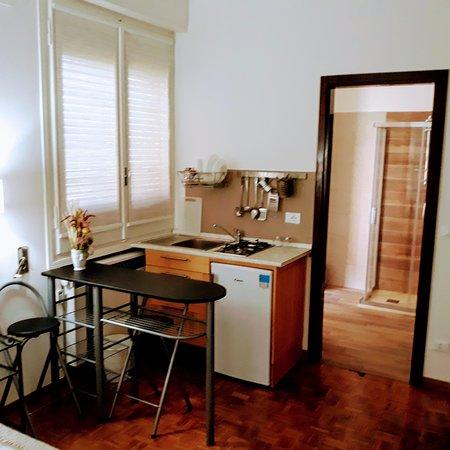 Bed & Breakfast Pancaldi Sant'Orsola: Angolo cottura camera 3