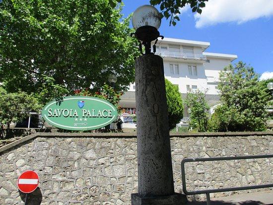 Hotel Savoia Palace : L'ingresso