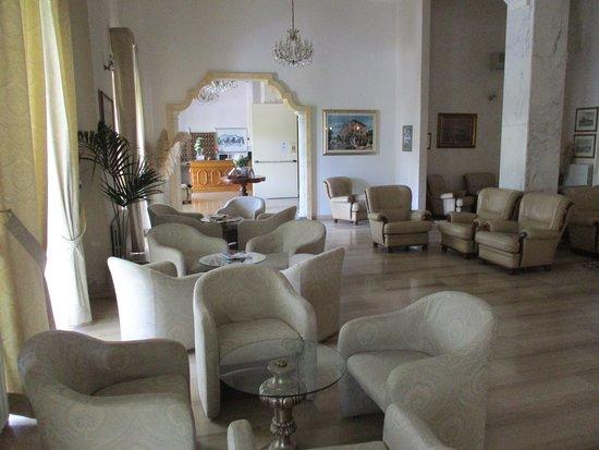 Hotel Savoia Palace : Salotto e sala lettura e divago