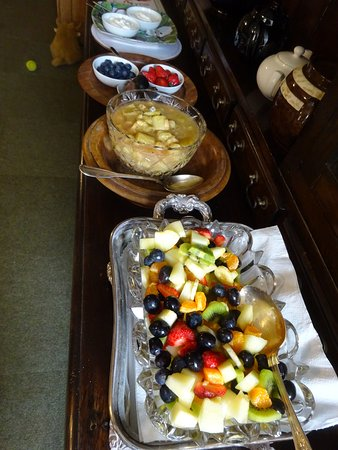 Hornton Grounds Country House: Breakfast fruit selection