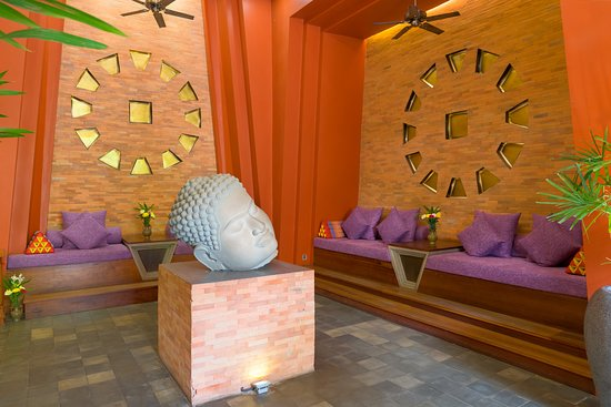 Golden Temple Residence : Hotel Lobby/Seating area