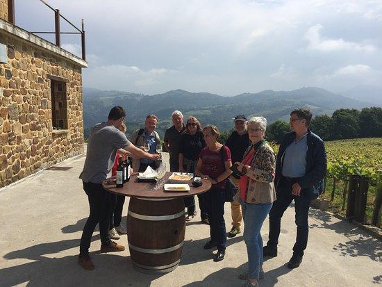 Travel San Sebastian: Txakoli Winery tasting in Getaria, Basque country