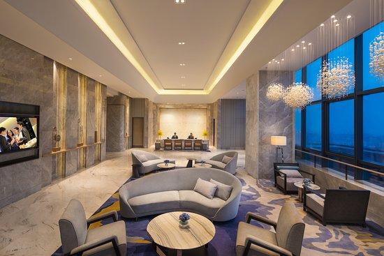 Ascott Harmony City Nantong: 36th Floor Lobby Area