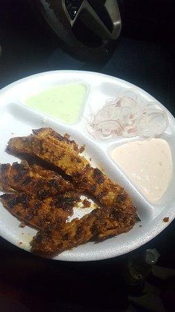 Sardarji Malai Chaap Wale: Had Special Veg Fish and soya keema with rumali roti
