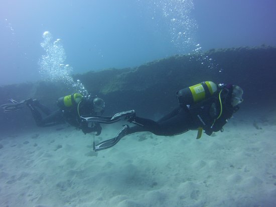 Top Diving Gran Canaria: The outer edge of a reef