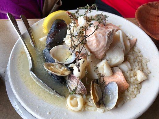 Athenian Seafood Restaurant and Bar: Seafood Bowl