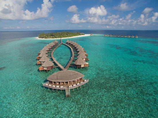 Angaga Island Resort & Spa: Aerial Bird's-eye View