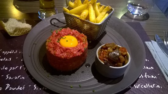 Le Cachepiou: steak tartar