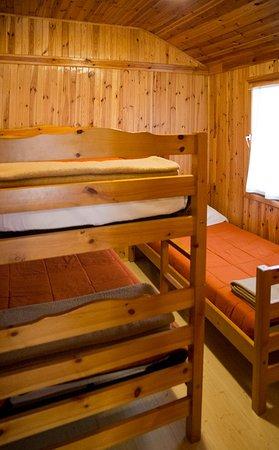 Peguerinos, Spain: Dormitorio casa de madera