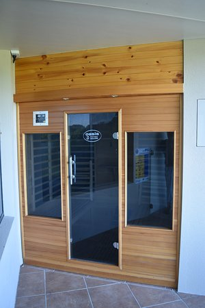 Mapleton Springs : Infrared Sauna available to guests