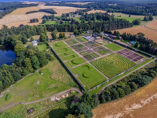 Fochabers, UK: Walled Garden July 2017