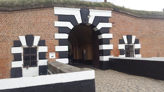 "Entrance to ""Terezin concentration camp"""