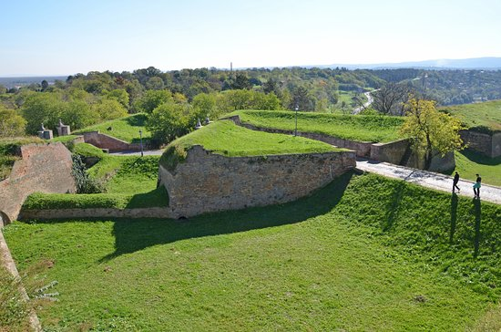 Ravelin on Upper (Petrovaradin) fortress