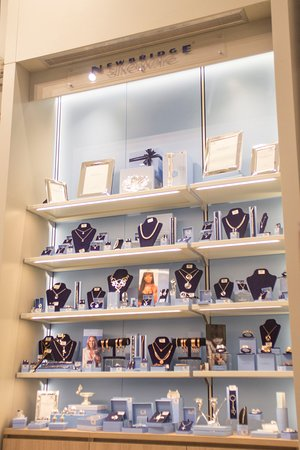 House of Ireland: Newbridge Silverware jewellery and homeware on the ground floor