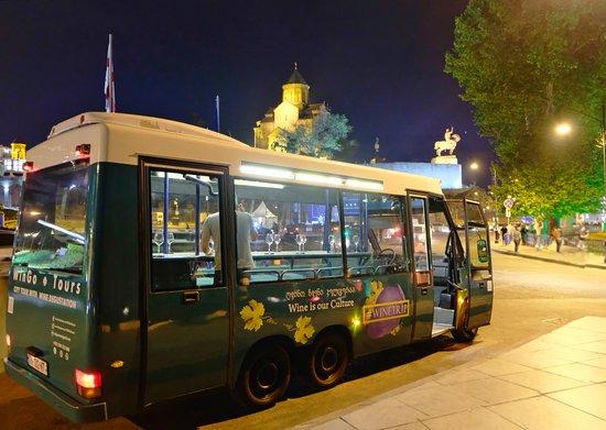 Wingo Tours: Night City