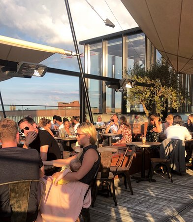 Black Smoke: Rooftop terrace