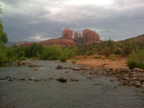 Red Rock State Park: Cathedral Rock and Oak Creek at Red Rock Crossing State Park