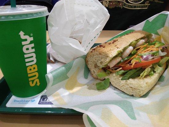 Subway, Masa21: エビアボカド