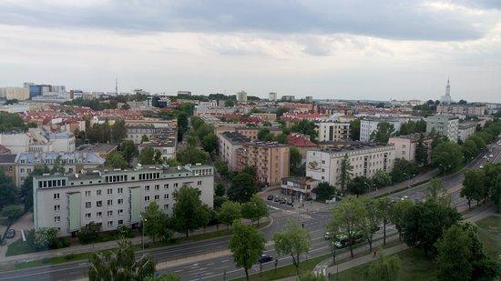 Ibis Styles Bialystok : вид на город