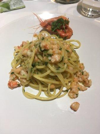 L'Unico: Spaghetti con gamberi