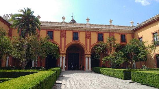 塞维利亚王宫照片