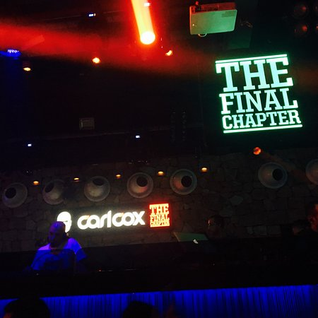 Space : Carl Cox is always amazing.