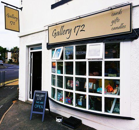 Here we are! Gallery 172 in the semi rural village of Roberttown, Liversedge in West Yorkshire